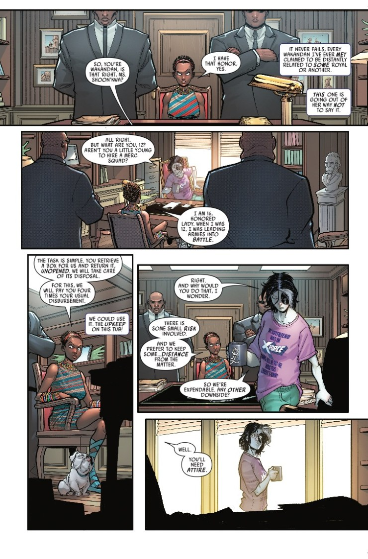 Marvel Preview: Domino (2018) #7