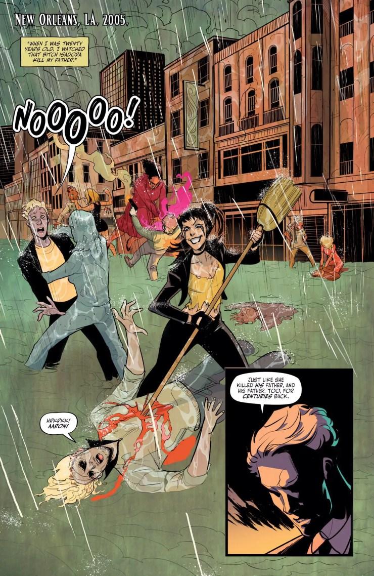 NYCC 2018: Ben Blacker channels his anger into DC Vertigo's 'Hex Wives'
