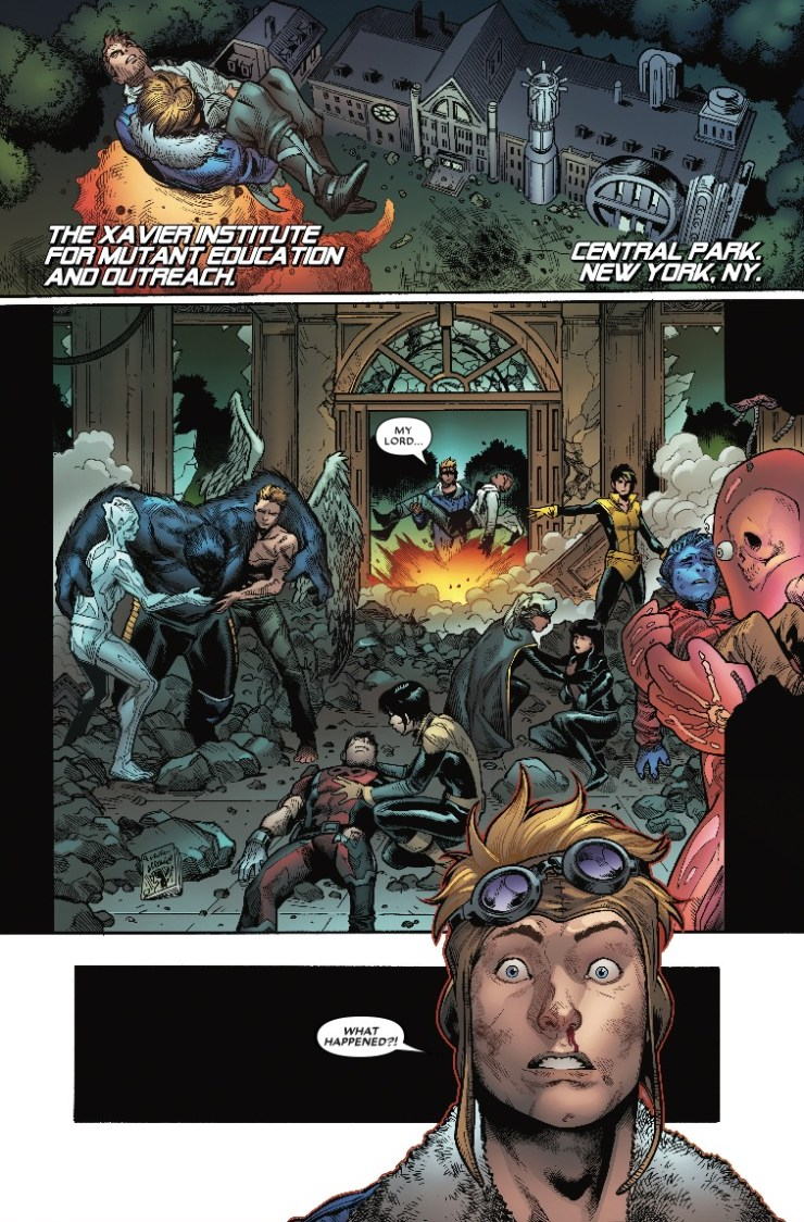 Marvel Preview: Extermination #4