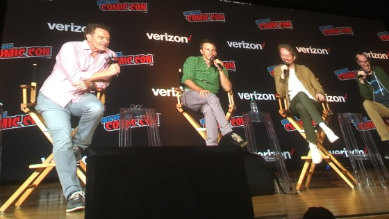 Bryan Cranston and NYCC's 'SuperMansion' panel tease Thanksgiving special and more