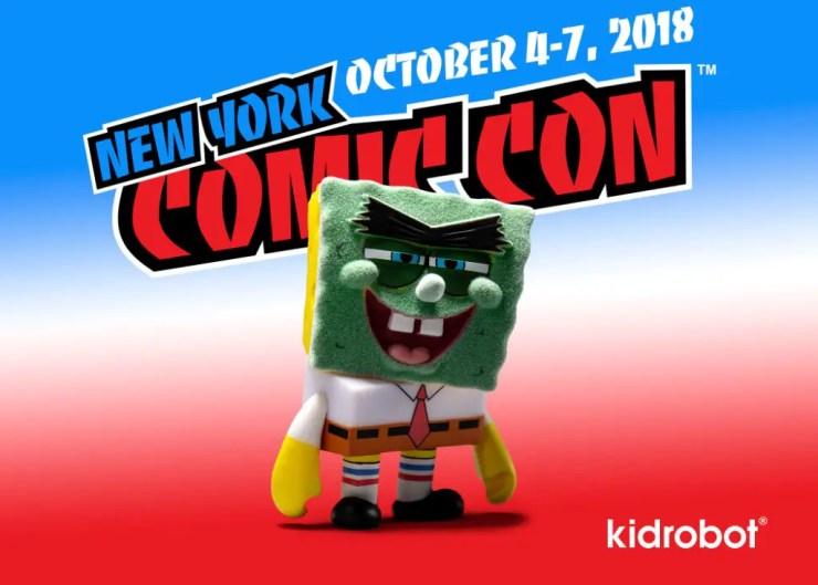 Kidrobot 2018 NYCC exclusives