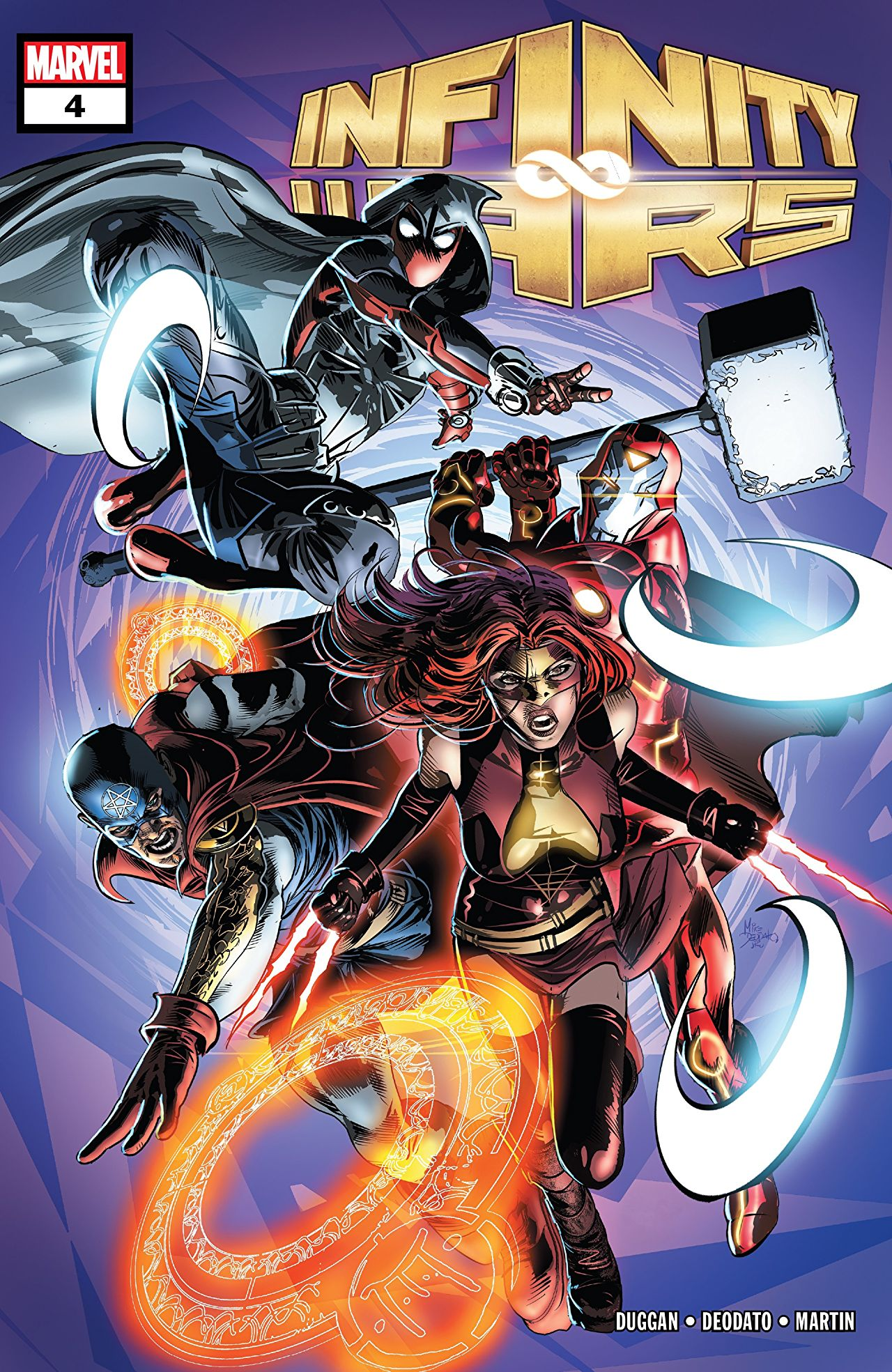 Infinity Wars #4 review: Splitting up is hard to do