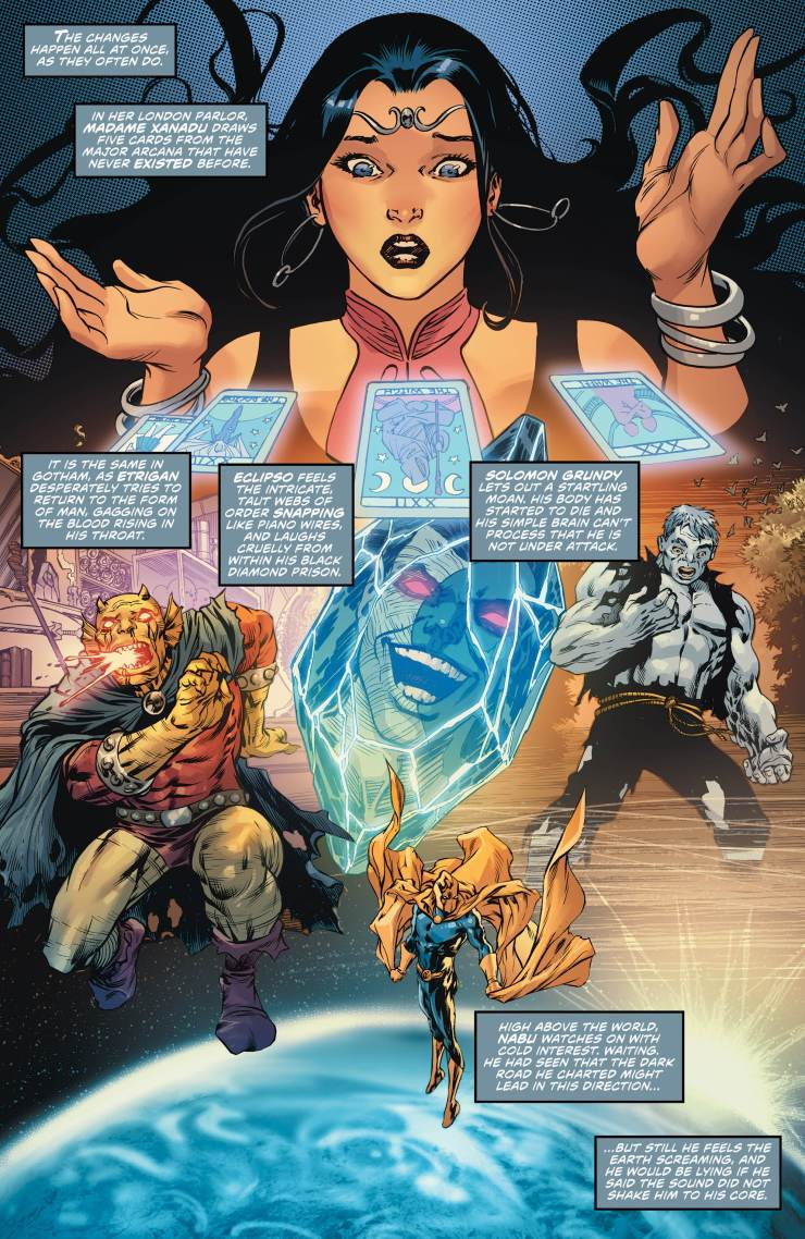 Justice League Dark and Wonder Woman: The Witching Hour #1 Review