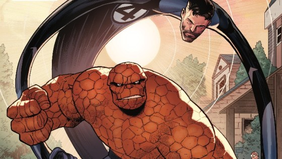 Marvel Two-in-One #11 review: The real reason Reed Richards needed the world to believe he was dead