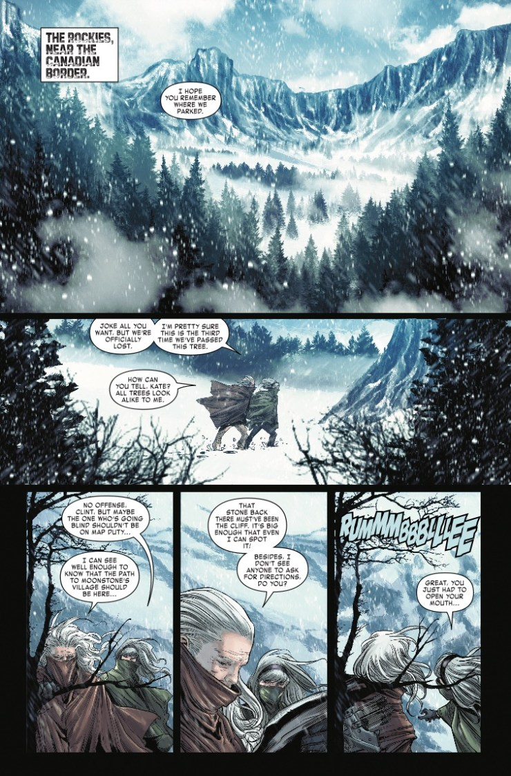 Marvel Preview: Old Man Hawkeye #10