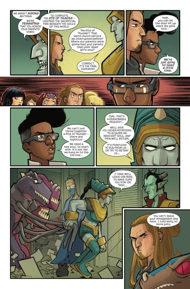 Marvel Preview: Runaways #14