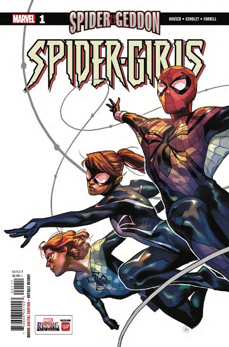 Spider-Girls #1 Review: Fun for the whole spider-family, actually