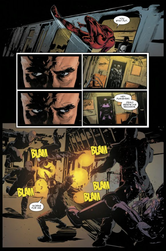 The Punisher #3 review: A slight change of formula, but it still works