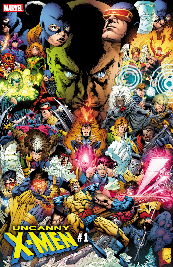 First Look: Uncanny X-Men #1 variant cover by Joe Quesada