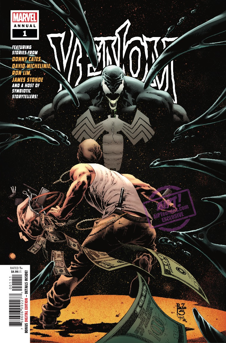 'Venom Annual' #1 review: A fighting good time with Wolverine, Venom, and friends