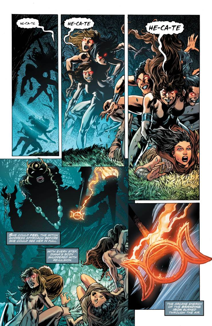 Wonder Woman and Justice League Dark: The Witching Hour #1 Review