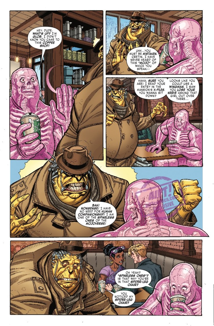 [EXCLUSIVE] Marvel Preview: X-Men: Black - Mojo #1