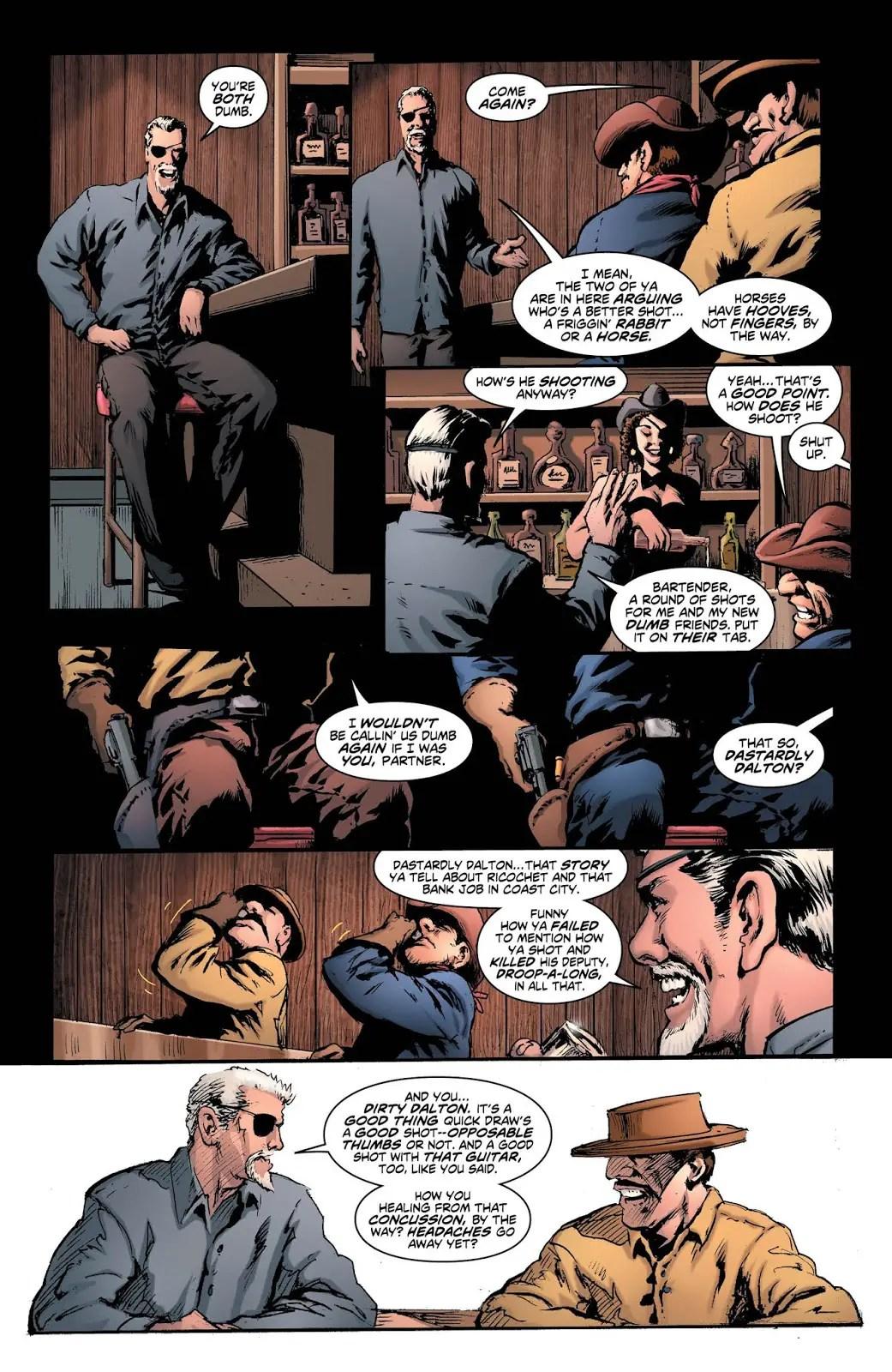 Deathstroke/Yogi Bear Special #1 Review
