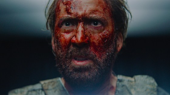 Mandy is an uncompromising, grisly film.