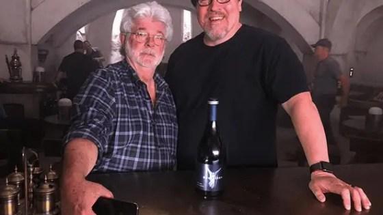 George Lucas pays surprise visit to Star Wars: The Mandalorian set to celebrate Jon Favreau's birthday