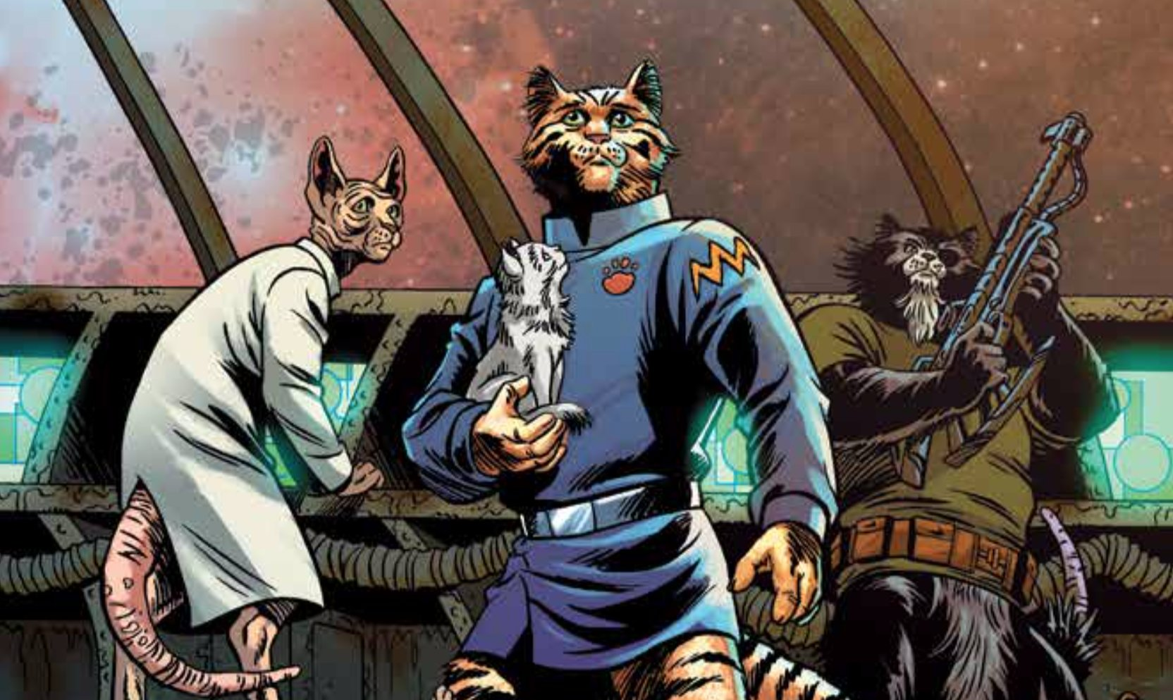 Captain Ginger #1 Review