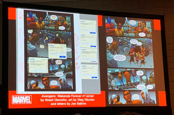 Marvel's first NYCC 2018 panel taught how to make comics the Marvel way