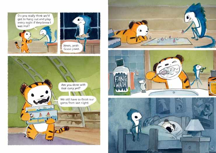 Tiger vs Nightmare review: A cute and relatable children's story for all ages