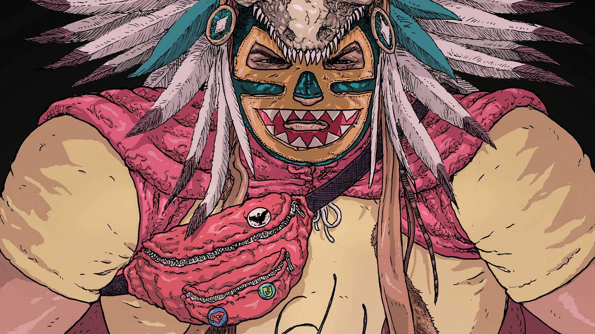 Border Town #2 review: Deftly using action and monsters to tackle immigration
