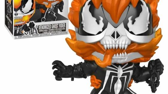 [WATCH] Funko POP! 'Venomized Ghost Rider' unboxing (Walmart exclusive)