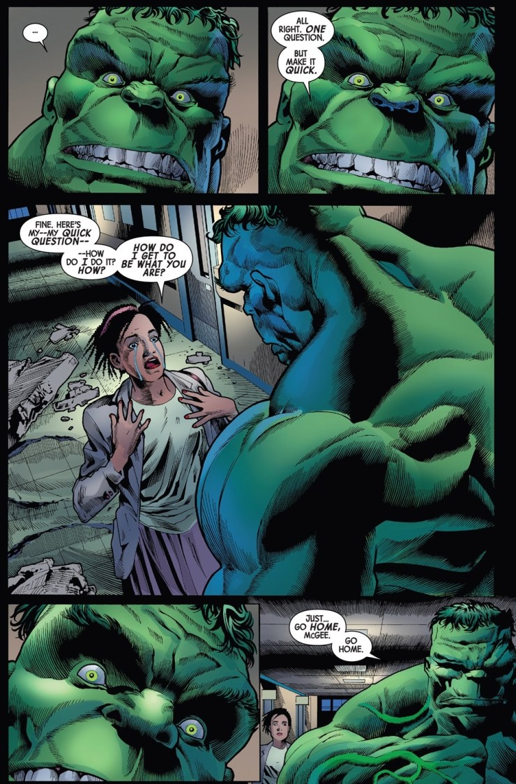 'Immortal Hulk Vol. 1: Or is he Both?' review: Scary good