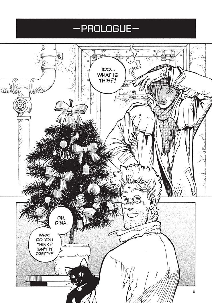 Battle Angel Alita: Holy Night and Other Stories Review