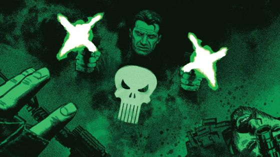 The chips are down and THE PUNISHER is boxed in!