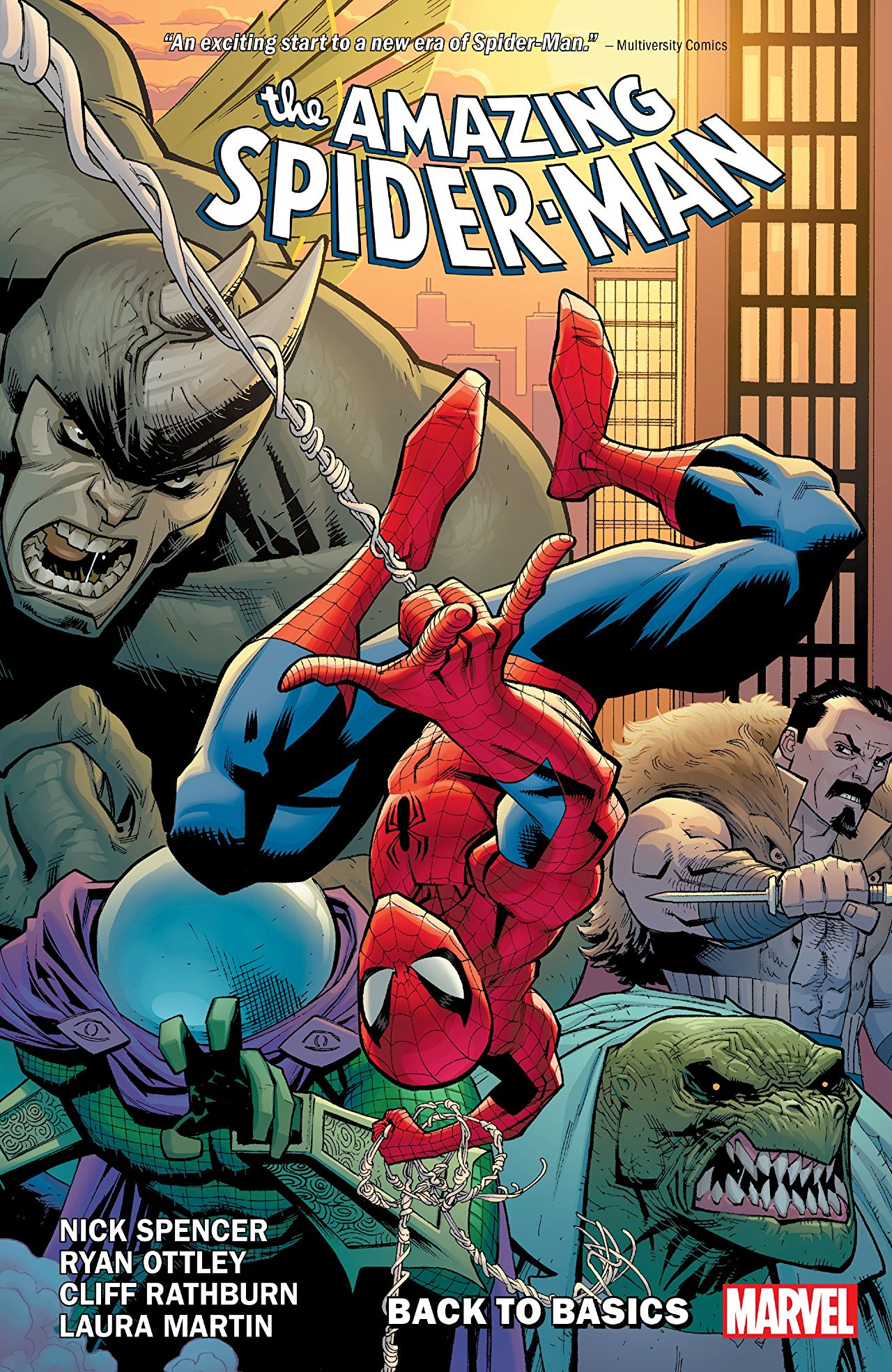 'Amazing Spider-Man Vol. 1: Back to Basics' is a perfect re-introduction for seasoned Spidey fans and wannabe webheads alike