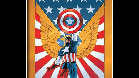 The first Marvel Knights Captain America story written post-9/11 is a poignant one.