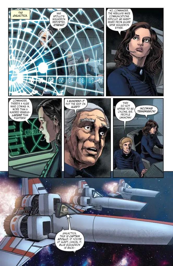 Battlestar Galactica: Classic #1 Review