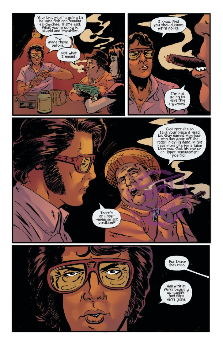 [EXCLUSIVE] IDW Preview: Bubba Ho-Tep and the Cosmic Blood-Suckers #4