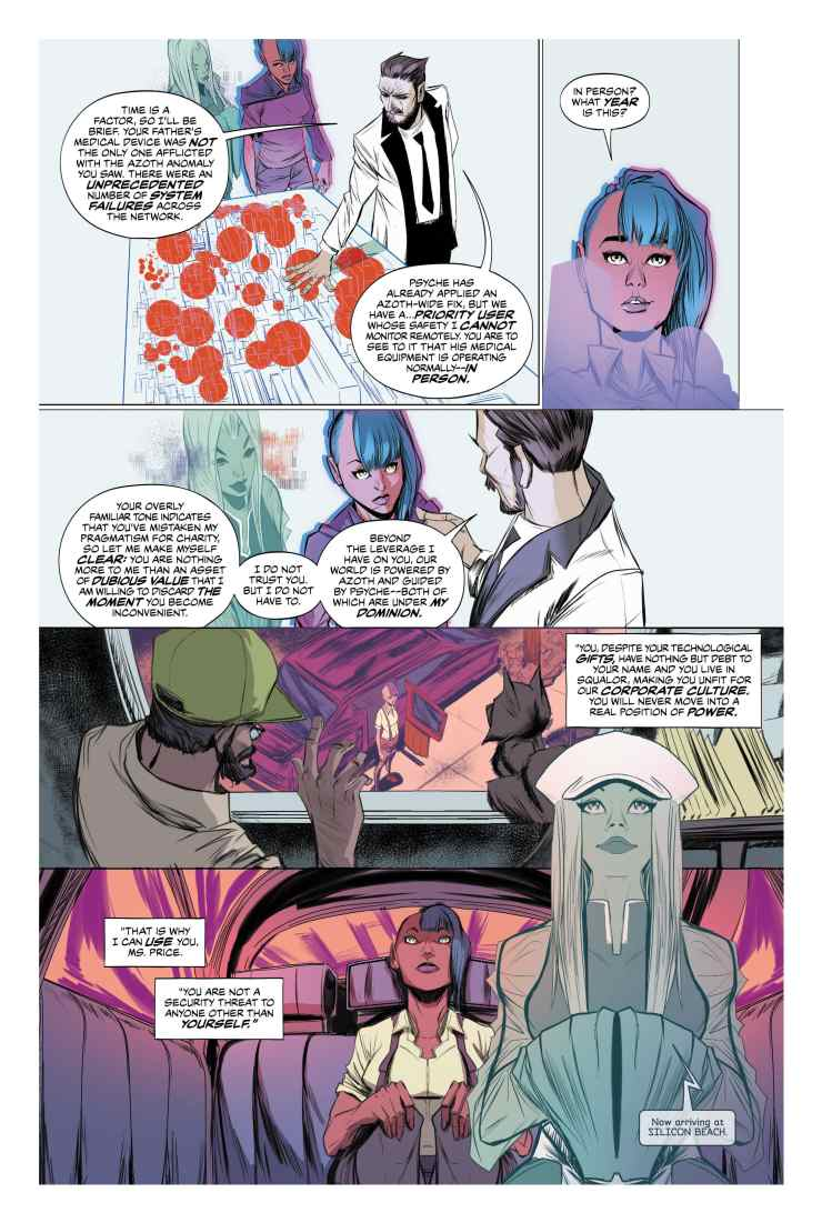 First Look: DC Vertigo's Goddess Mode #1