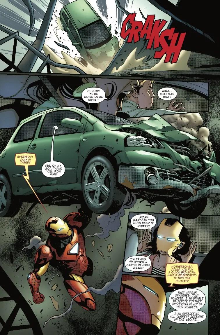 Tony Stark: Iron Man #6 Review