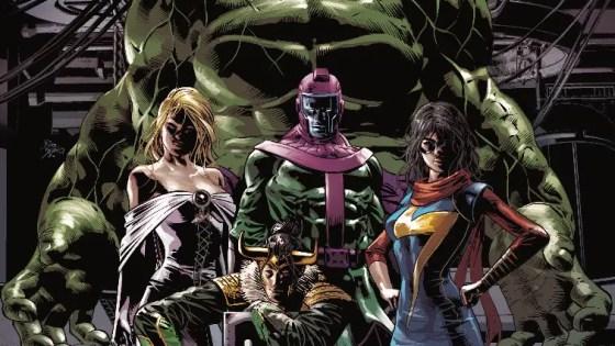 Introducing… Loki's Cosmic Avengers!