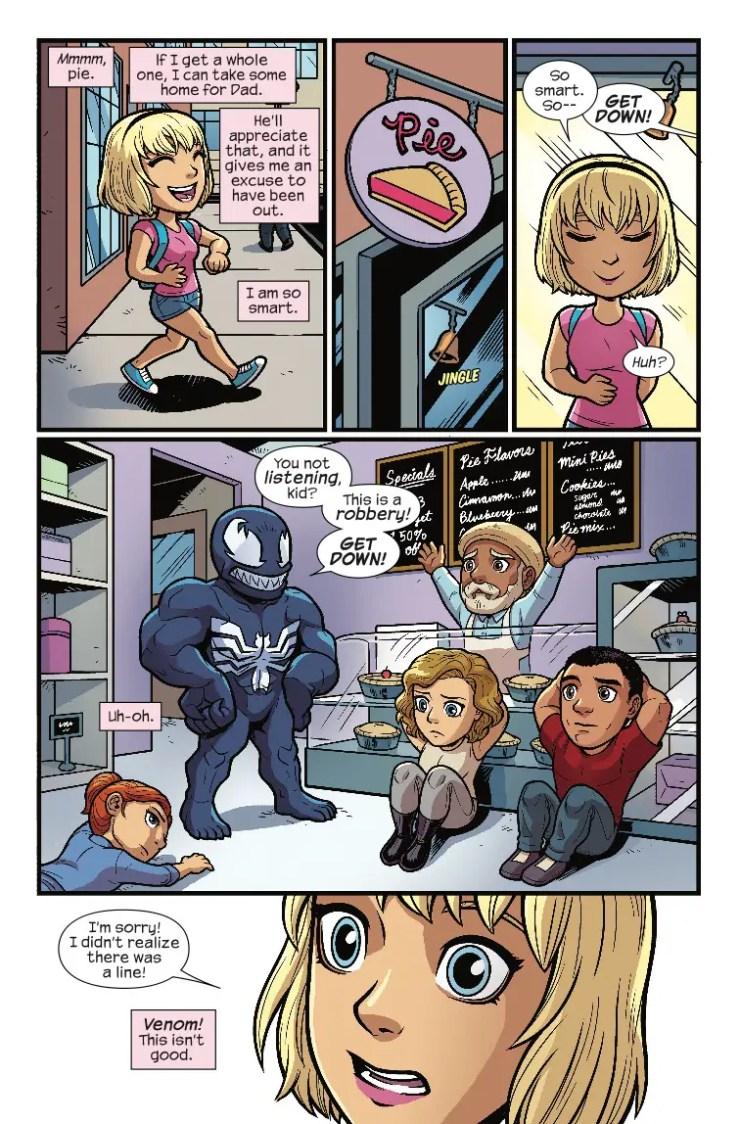 Marvel Preview: Marvel Super Hero Adventures: Captain Marvel - Mealtime Mayhem #1
