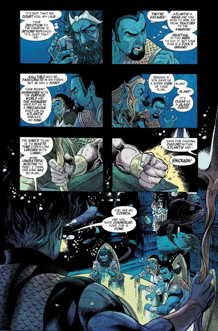 Marvel Preview: Namor: The Best Defense (2018) #1