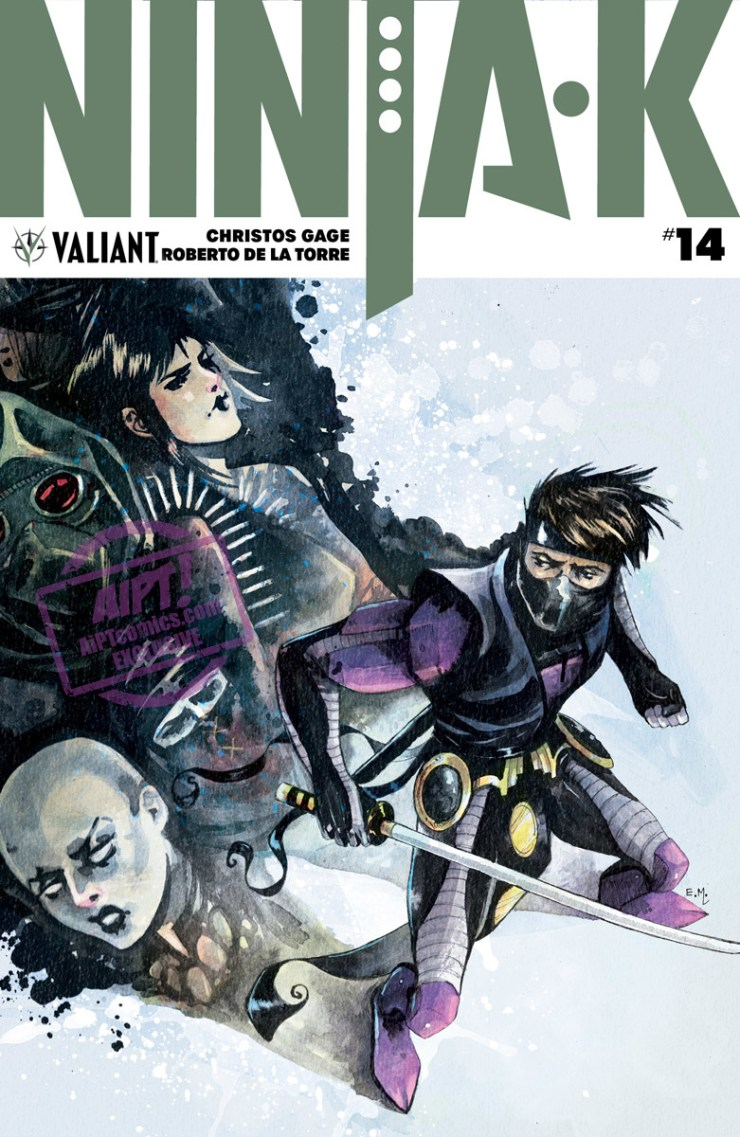 [EXCLUSIVE] Valiant Preview: Ninja-K #14