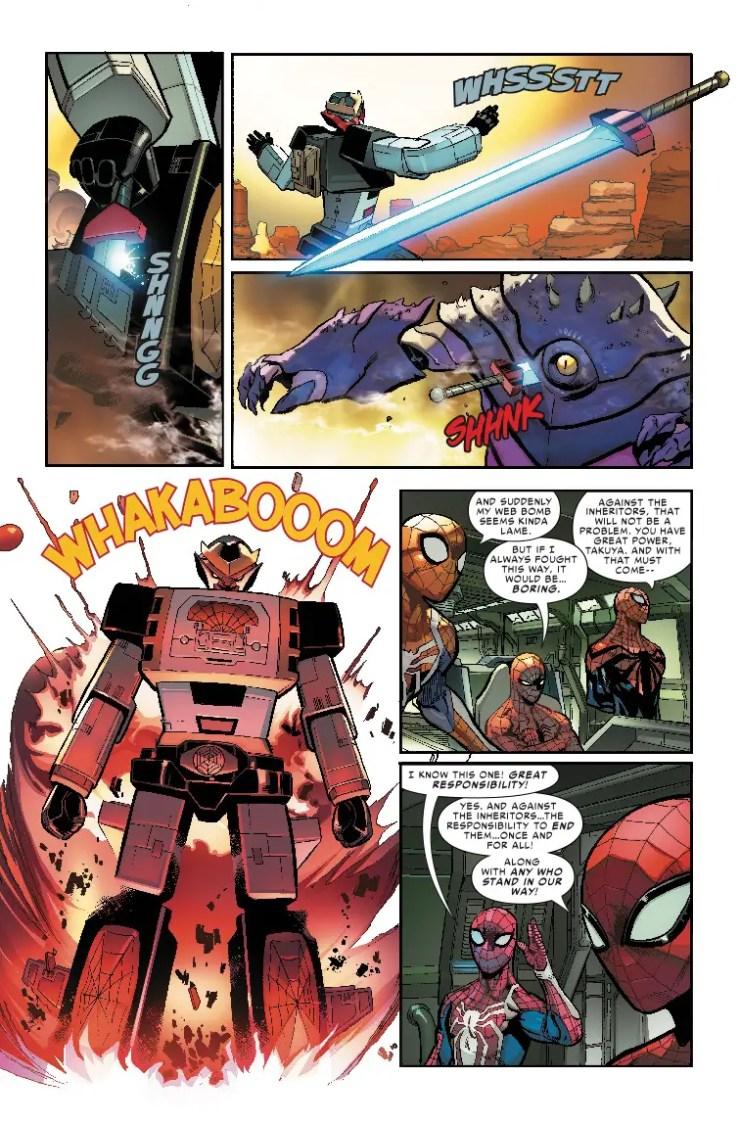 Marvel Preview: Spider-Geddon #3