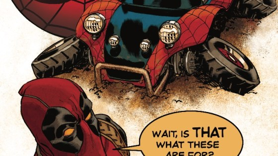 Spider-Man and Deadpool are discovering America and true friendship!