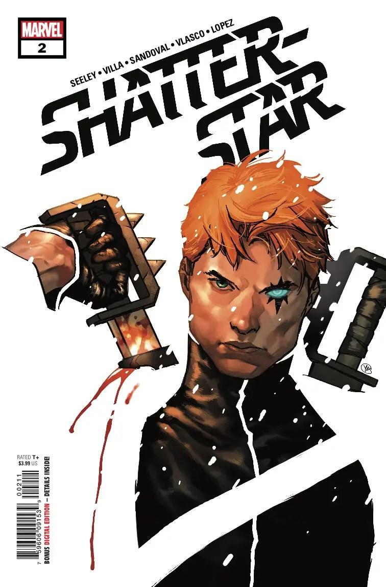 Shatterstar #2 Review