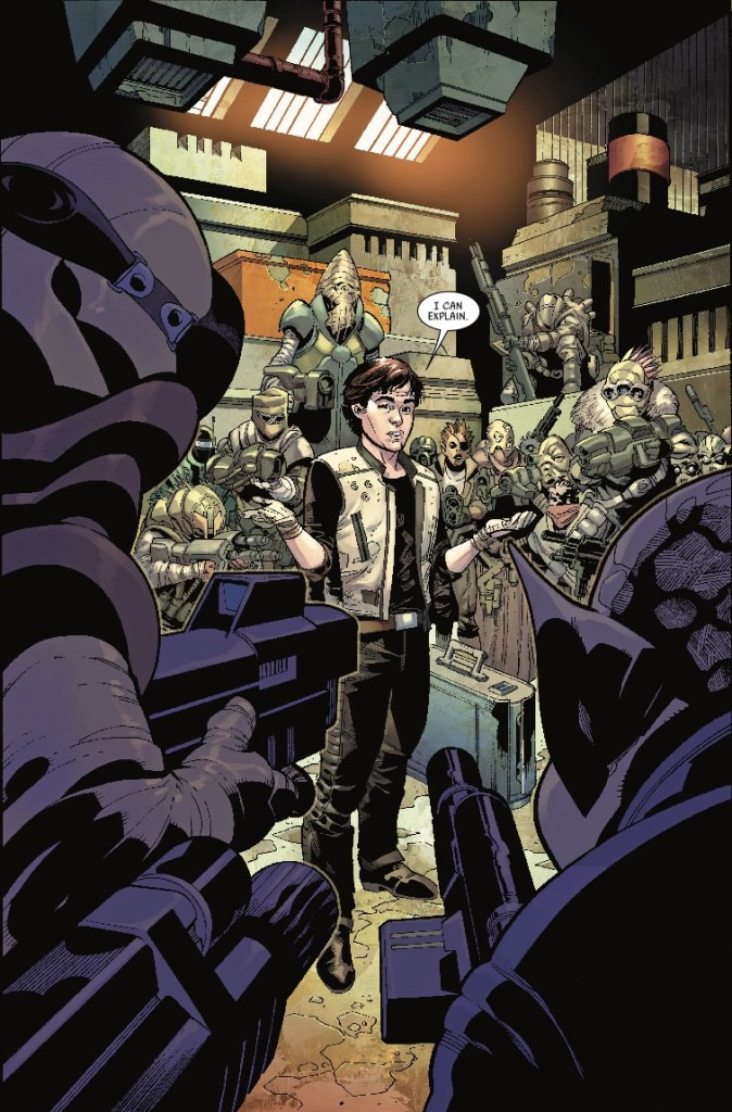 Star Wars: Han Solo- Imperial Cadet #1 review: I've got a bad feeling about this