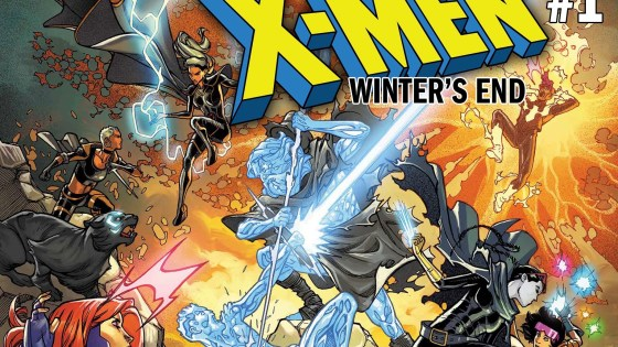 An eXclusive first look at February 2019's Uncanny X-Men: Winter's End!
