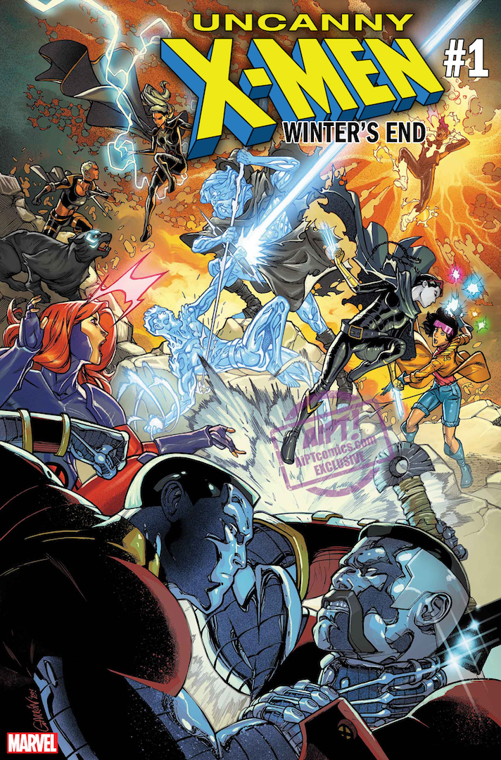 Return of the Ice Master: Sina Grace on what fans can expect from Uncanny X-Men: Winter's End #1