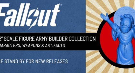 First look at Toynk's exclusive Fallout Nanoforce Army Builder Collection Line