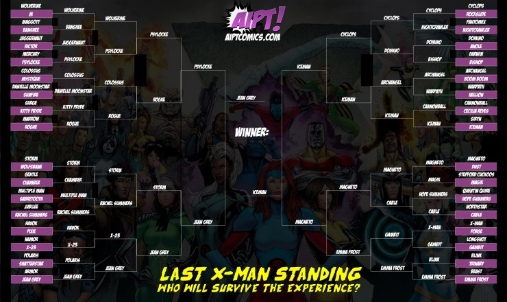 The 'Last X-Man Standing' Tournament: Final Round - A Song of Ice and Fire [VOTE]