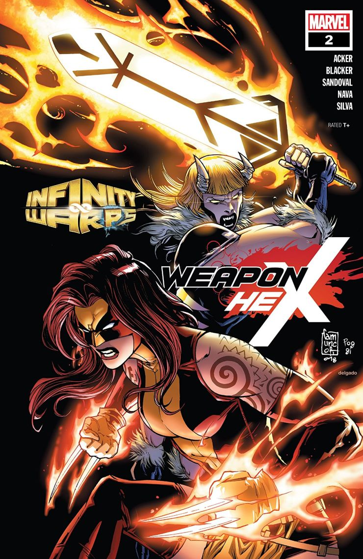 Marvel Preview: Infinity Wars: Weapon Hex (2018) #2