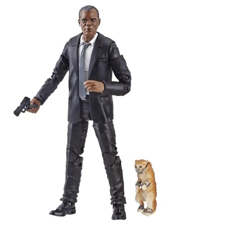 Hasbro all but confirms Carol Danvers' cat is a Flerken in new Marvel Legends toy reveal