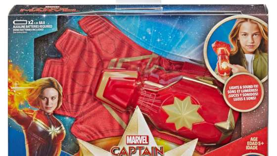 Check out all the Captain Marvel movie toys coming to stores this winter and spring.