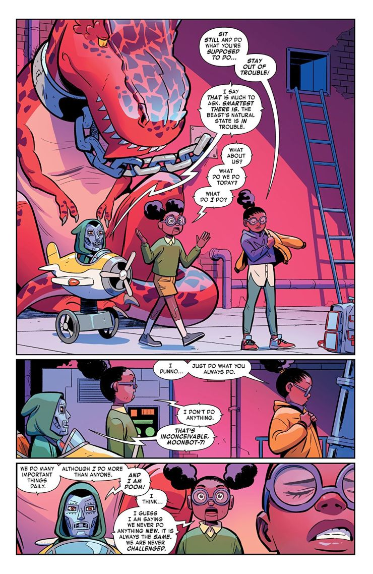 Moon Girl and Devil Dinosaur Vol. 6: Save Our School Review