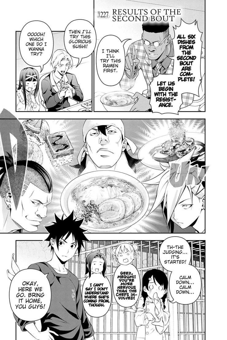 Food Wars!: Shokugeki no Soma Vol. 27 Review